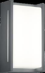 Antraciet-grijze Wandlamp TRIO INDUS 7 cm 23 Antraciet Metaal