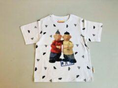 Witte Buurman & Buurman T-shirt Buurman en Buurman Unisex T-shirt Maat 122/128