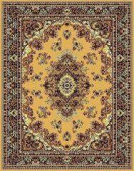 Bruine Ikado Klassiek tapijt medaillon berber - 120 x 170 cm
