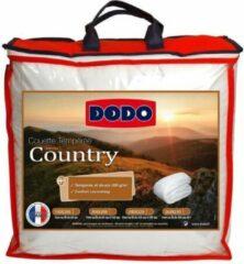 DODO Land-gehard dekbed - 200 x 200 cm - wit