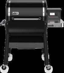 Zwarte Weber SmokeFire EX4 GBS Wood Fired Pellet Barbecue / Houtskool Barbecue