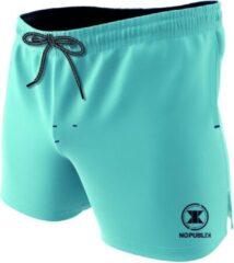 Merkloos / Sans marque NOPublik zwembroek - lichtblauw - XL