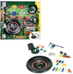 Toitoys Toi-toys Rouletteset Groen/zwart 18-delig 15 Cm