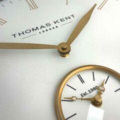Thomas Kent London - Klok rond Timekeeper - 48cm - Bronsgoud