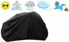 Bavepa Fietshoes Geschikt Voor Alpina Tingle 24 inch 2017 Meisjes Zwart Inclusief Meegeleverde Bevestigingshaken