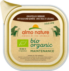 Almo Nature Alu Daily Menu Bio Adult 100 g - Hondenvoer - Kalf&Wortel