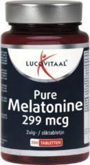 Lucovitaal - Melatonine Puur 299 mircogram - 200 tabletten - Voedingssupplement