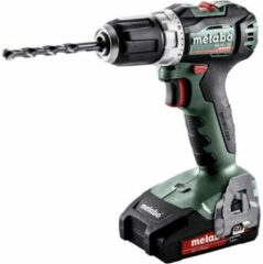 Metabo BS 18 L BL Accuschroefboormachine 18 V 2.0 Li-ion Incl. 2 accus, Incl. koffer