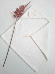 Gebroken-witte Omslagdoek | Comfykids | Off white | Wafekatoen | Badstof | Comfortabel| Hoge kwaliteit stoffen | Soft
