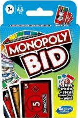 Hasbro Gaming Monopoly Bid - Kaartspel