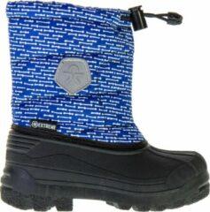 Color Kids Dylano snowboots voor kinderen Snowboots - Maat 28 - Unisex - blauw/wit/zwart