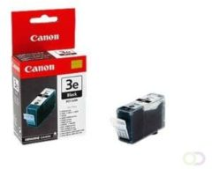 CANON BCI-3EBK inktcartridge zwart standard capacity 1-pack blister met alarm