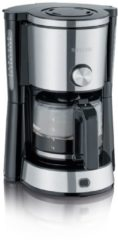 Severin KA 4825 TYPE SWITCH Koffiezetapparaat RVS, Zwart Capaciteit koppen: 10 Glazen kan