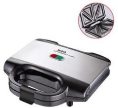 Zilveren Tefal Sm 1552 Ultracompact Tostiapparaat