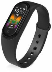 Wearfit Smartband M5 Fitness activity tracker Stappenteller - Zwart - black friday 2020 deals
