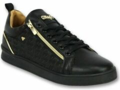 Cash Money Zwarte Sneakers Mannen - Schoenen Heren Maya Full Black - CMP97 - Maten: 45