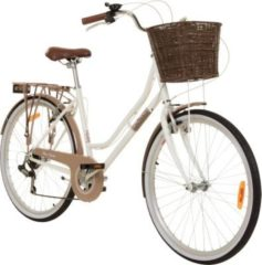 26 Zoll Cityrad Galano Belgravia 6 Gang Damenfahrrad Mädchenrad Citybike mit... rot, 18 Zoll