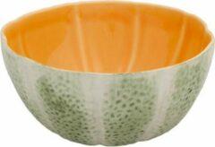 Groene Bowl Kom Melon - Set van twee stuks - Bordallo Pinheiro