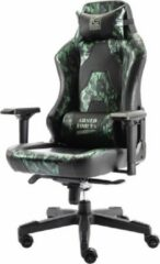 Groene Lc-Power LC-GC-700CG Ergonomic Camouflage Gaming Chair with Adjustable back angle