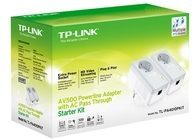 TP-Link TL-PA4010PKIT AV500+ Powerline Kit with AC Pass Through - Bridge - an Wandsteckdose