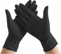 Handschoenen Wegwerp-Latex Free Gloves powder free disposablos- Nitrile -Latex free -100 st-Zwart Maat M