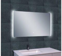 Saqu Duo Spiegel met LED verlichting 100x60 cm
