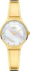 Gouden Danish Design watches edelstalen dameshorloge Anthea Gold Mother of Pearl IV05Q1176