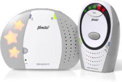 Alecto DBX-85 ECO GS ECO DECT babyfoon - 100% storingsvrije verbinding en ECO modus - Wit / Grijs