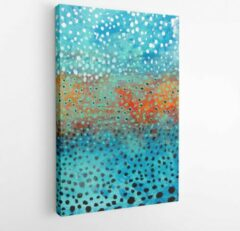 Onlinecanvas Colorful paint. Fantastic and magic modern art. Contemporary art - Modern Art Canvas -Vertical - 760117252 - 40-30 Vertical