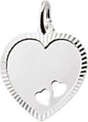 Zilveren Tomylo - Graveerplaat zilver hart - 1304772