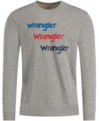 Grijze Sweater Wrangler W6A5HAX37