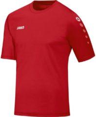 Jako Team SS T-shirt Heren Sportshirt performance - Maat M - Mannen - rood