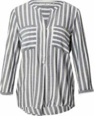 Licht-grijze Tom Tailor blouse Lichtgrijs-38 (M)