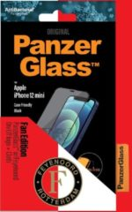 PanzerGlass Feyenoord Case Friendly Screenprotector voor de iPhone 12 Mini - Zwart