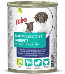 Prins NatureCare Diet Struvite&Calciumoxalate Hond Natvoer 400 gr