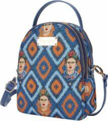 Blauwe Signare Mini Backpack - Schoudertas - Frida Kahlo Icon