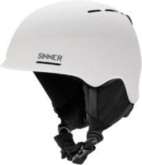 Sinner Fortune Unisex Skihelm - Wit - Maat L/60 cm