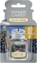 Grijze Yankee Candle Candlelit Cabin Car Jar Ultimate