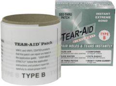 Transparante Tear-Aid Tear Aid Type B rol 7.6cm. x 9m.