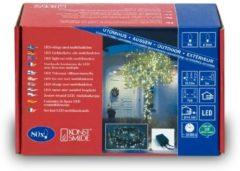 Konstsmide 3630-110 Micro-lichtketting Buiten Energielabel: A (A++ - E) werkt op het lichtnet 80 LED Warm-wit Verlichte lengte: 5.53 m