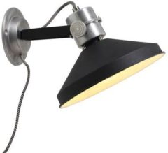 Anne Lighting Lighting - Industriele AN Wandlamp 1-l. aluminium - Zwart