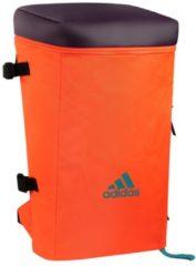 Oranje Adidas VS3 backpack hockey Scarlet/solar orange NS