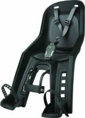 Polisport Duo Bubbly+ mini Fietsstoeltje voor - Zwart/Grijs