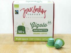 Jones Brothers Coffee composteerbare koffiecups Gigolo - 50 cups