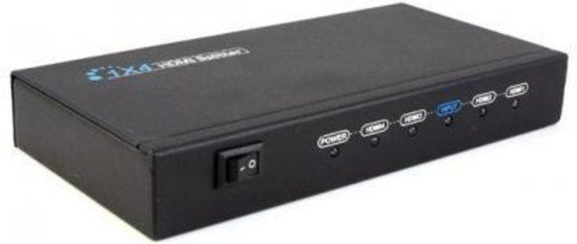 Afbeelding van Allteq Techtube Pro - 4-Poorts HDMI splitter