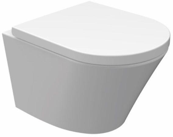Afbeelding van Geberit UP720 toiletset met Lambini Sub Compact Rimfree inclusief soft-close zitting