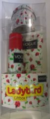 Vogue Girl Geschenkset - Ladybird Douchegel + Deospray + Bewaarblikje