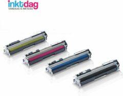 Cyane Inktdag huismerk Toner cartridge compatible met HP 130A CF350A CF351A CF352A CF353A voor HP Color Laserjet Pro MFP M176n, M177fw, M170 Series