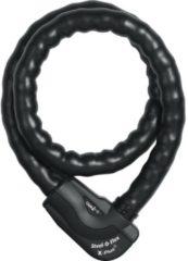 Abus Granit Steel-O-Flex Plus 1025 Kettenschloss - 27 mm / 120 cm - Schwarz