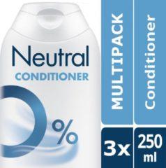 Neutral Parfumvrij - 3 x 250 ml - Conditioner